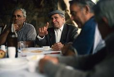 """At 103-years-old Giovanni Sannai sat at the head of the table surrounded by his extended family. His secret to long life? """"Mostly I've always tried to remember that when you get good things in life, enjoy them, because they won't be there forever."""""""