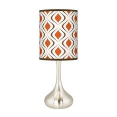 Like - with a different shade... Chrome Tulip Base Lamp (from The Swinging 60s & 70s Collection; Dot & Bo)
