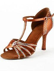 Zapatos de baile (Marrón) - Danza latina/Salsa - No Personalizable - Tacón Luis…