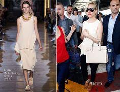 Sienna Miller In Stella McCartney - Nice Airport