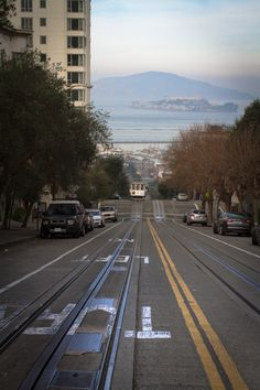 One of the steepest streets I've ever seen.