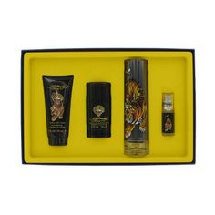 Christian Audigier Ed Hardy King Dog for Men 4 Pc Gift Set34 Ounce * Learn more by visiting the image link.Note:It is affiliate link to Amazon. #likes4likes