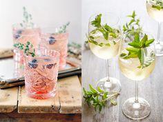 6 drinkar med cava eller prosecco