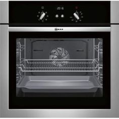 Buy Neff B14M42N5GB built-in/under single oven Electric Built-in in Stainless steel from Appliances Direct - the UK's leading online appliance specialist