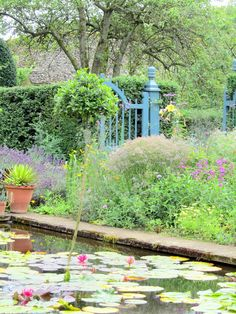 Hidcote manor gardens, near Chipping Camden in The Cotswolds, UK.  There's a fun little barn cafe on the grounds, perfect for lunch.