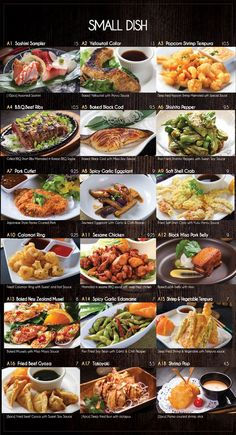 Fusion Sushi Japanese Restaurants - Manhattan Beach and Long Beach in California Japanese Menu, Easy Japanese Recipes, Japanese Sweets, Sushi Recipes, Asian Recipes, Cooking Recipes, Sushi Bar Menu, Sushi Guide, Best Pre Workout Food