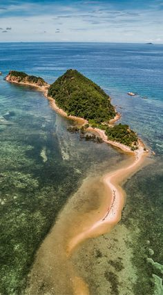 Amazing Drone Photos of the Philippines. This was just one of the many Islands we explored by Kayak in Northern Busuanga. Photo Location Busuanga Island Philippines. Photo Taken By The Divergent Travelers Adventure Travel Blog. Click to see all of the photos at http://www.divergenttravelers.com/drone-photos-of-the-philippines/