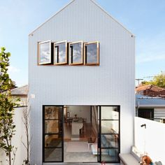 Design Milk, A Major Renovation for a House on a Narrow Lot