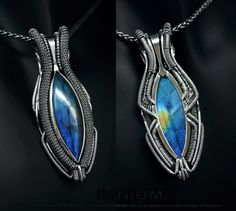 Design Jewelry and Accessories Magazine: Daily treat - reversible labradorite pendant