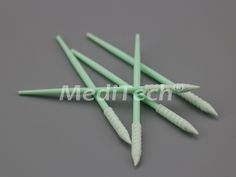ESD Safe Foam Swabs We manufacture lint free foam swabs, cleanroom foam swabs in a variety of head sizes, tip material, handle lengths. Spiral, Handle, Tips, Free, Door Knob, Counseling