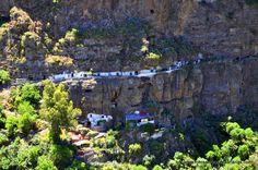 Casas cuevas en barranco del Sao - Agaete - Gran Canaria