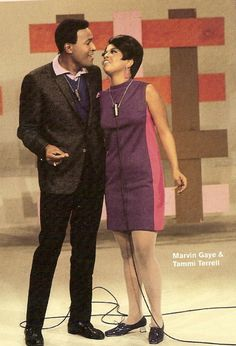 Marvin Gaye and Tammi Terrell.