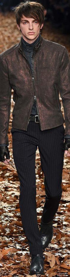 John Varvatos 2015   Men's Fashion   Menswear   Men's Casual Outfit for Fall/Winter   Moda Masculina   Shop at designerclothingfans.com