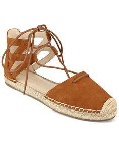Marc Fisher Misses Lace-Up Espadrille Sandals - Sandals - Shoes - Macy's