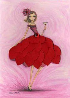 petal dress card Bella Pilar