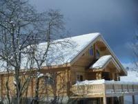 proche ski de fond, raquettes et rando dès la sortie du chalet, jaccuzi, station familiale de la joue du loup  ( hautes alpes 05), ....détente!!!