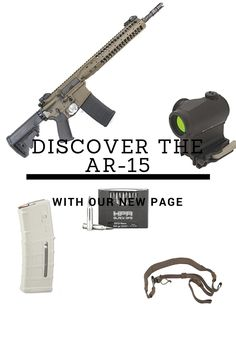 Visit our new page and find everything AR-15 related by clicking the image. Pictured: LWRC IC-SPR AR-15, Aimpoint Micro T-1, Magpul Gen 3 PMAG in Sand, Viking Tactical rifle sling and HPR Black Ops .223 Remington ammo