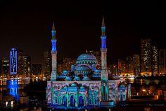 Masjid An Noor, Sharjah Light Festival