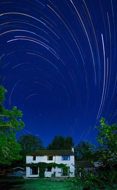 """The Gopro Hero 4 is a very capable camera for taking """"Star Trail"""" Photographs  First you will need to find a place where you have no or very little light polution as too much will ruin the final photograph.  Be careful, too much Moon light and you may not be able to photograph the stars. Too litt..."""
