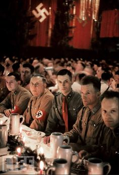Nazi supporters during Christmas (weird bad karma=pinner)