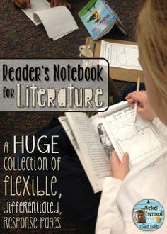 Reader's Notebook for Literature. Lots of options, Lots of differentiation. Gr 1-7 ($) [Save 28% May 6-7]