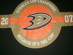 Because its the Cup Anaheim Ducks T-shirt NHL