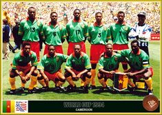 Fan pictures - 1994 FIFA World Cup United States. Cameroon team