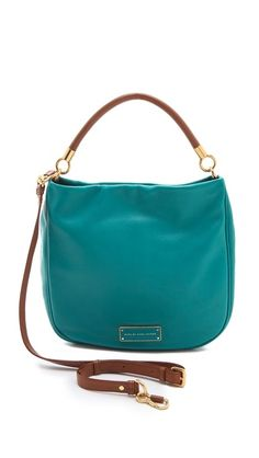 Too Hot To Handle Hobo - Marc by Marc Jacobs. You show me a leather bag in teal, and I ask you why you're showing it, and not giving it, to me.