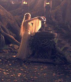 Galadriel, Queen of Lorien.