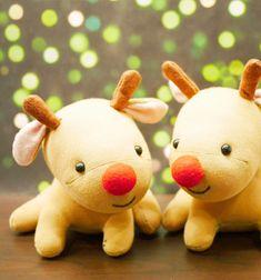 ❤ Zokni rénszarvas Rudolf (videó varrási útmutató) ❤Mindy - kreatív ötletek és dekorációk minden napra