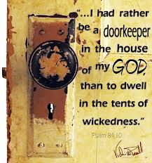 """""""For a day in Your courts is better than a thousand. I would rather be a doorkeeper in the house of my God Than dwell in the tents of wickedness. Printable Bible Verses, Bible Verses Quotes, Bible Scriptures, Faith Quotes, Psalm 84, Shadow Of The Almighty, God Is Amazing, Bible Illustrations, Bible Promises"""
