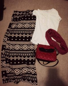Outfit 16 #modesty #maxiskirt #modestoutfit #betsyjohnson