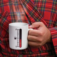Tank up Heat Sensitive Mug
