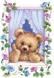 Teddy at the window Tatty Teddy, Teddy Bear Pictures, Bear Images, Bear Clipart, Cute Clipart, Paint Photoshop, Photo Ours, Art D'ours, Urso Bear