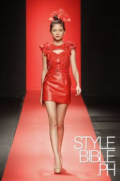 Filipino fashion week 2012
