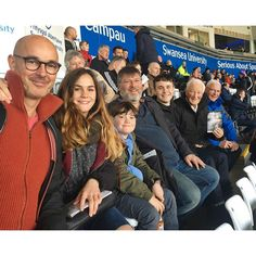 Family outing to see Swansea City for my Dad's 80th.