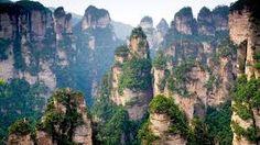 Montañas Tianzi (China)