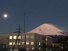 Mt. Fuji early in the morning