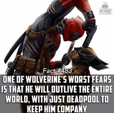 Alone with Deadpool