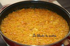 La libreta de recetas: arroz