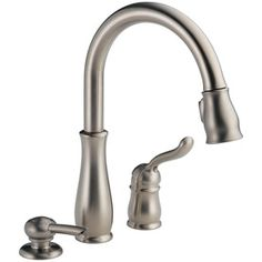 Delta Leland Stainless 1-Handle Pull-Down Kitchen Faucet 978-Sssd-Dst