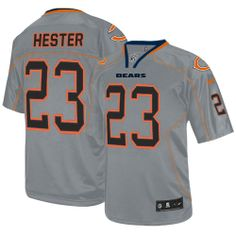 Mens Nike Chicago Bears  23 Devin Hester Limited Lights Out Grey NFL Jersey  Arizona Cardinals 317437baf