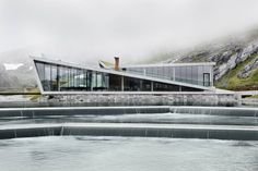 Mirador turístico, Reiulf Ramstad Arkitekter AS, Norway Refugio Trollstigen