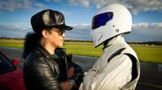 Slash and The Stig on Top Gear