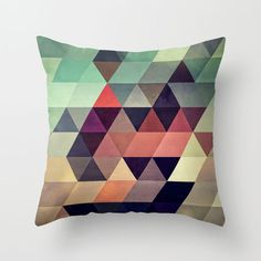 Geometric Abstraction I Pillow Cover | dotandbo.com