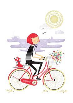 bike girl.: