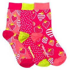Smelly Strawberry Ankle Socks