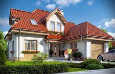 Projekt+Klasyczny Mansions, House Styles, Surf Board, Home Decor, Places, Lugares, Luxury Houses, Interior Design, Home Interior Design