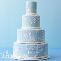 12 Wedding Cakes by Color