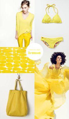 color my style: lemon